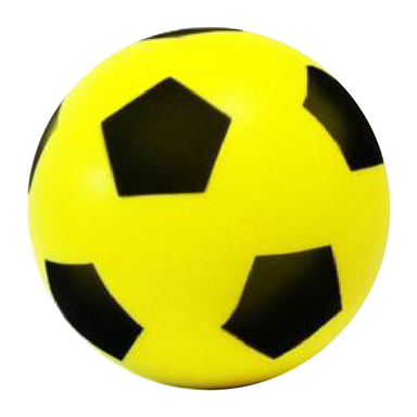 Sponge Football - Yellow - only5pounds.com