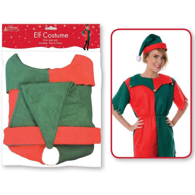 Miss Elf Costume - Women's Small - only5pounds.com