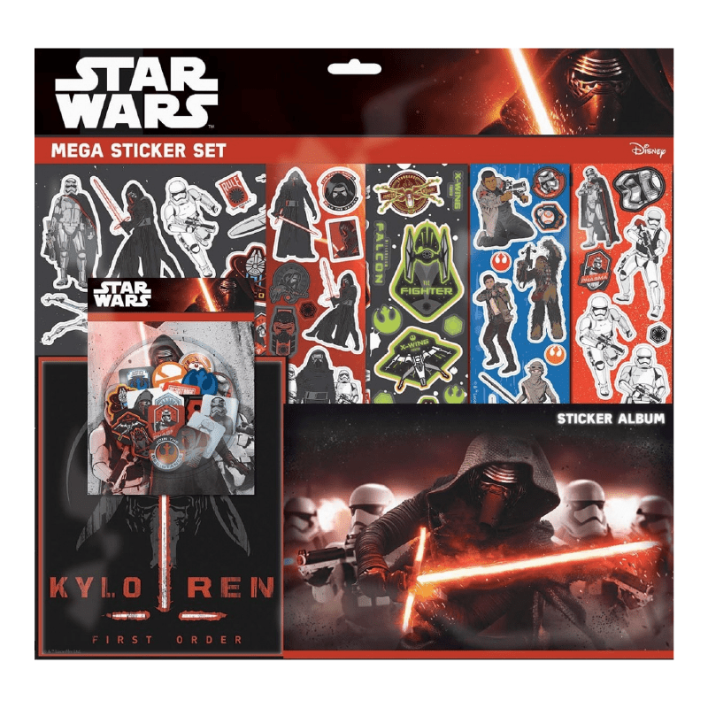 Star Wars Mega Sticker Set - 100 Stickers - only5pounds.com