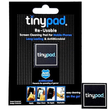 Tiny Pad Re-Usable Screen Cleaning Pad For Mobile Phone - only5pounds.com