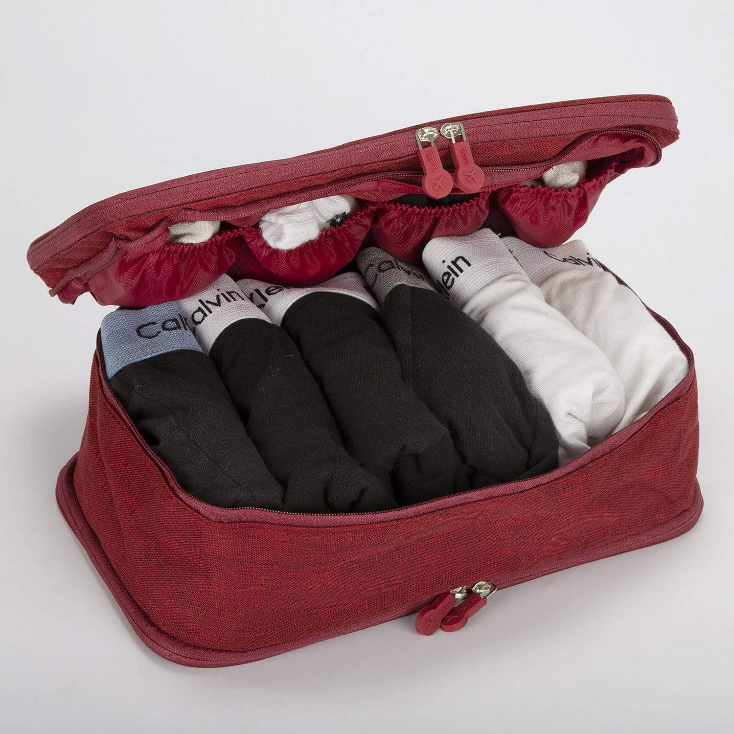 Essentials Travel Bag - Red - only5pounds.com