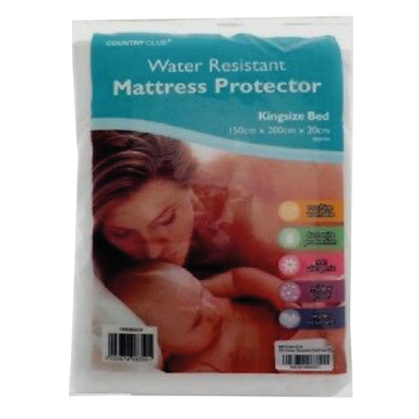 Water Resistant Mattress Bed Protector - Kingsize 5023674083501