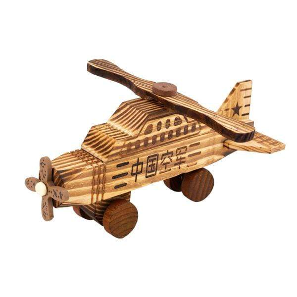 Wooden Toy Airplane - 23CM - only5pounds.com