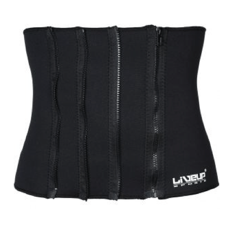 Zipper Slim Belt Neoprene - Black - only5pounds.com