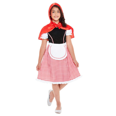 Deluxe Red Riding Hood Costume - Small 5020570512227