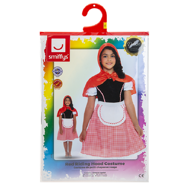 Deluxe Red Riding Hood Costume - Small (Ages 4-7 Years) 5020570512227