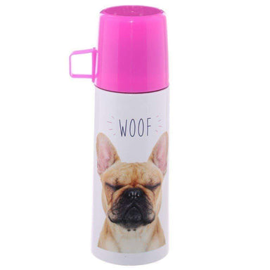 Funky Flask 350 ml - French Bulldog - only5pounds.com