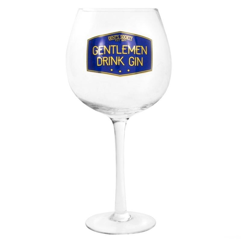 GENTS SOCIETY GIN GLASS 5010792438665