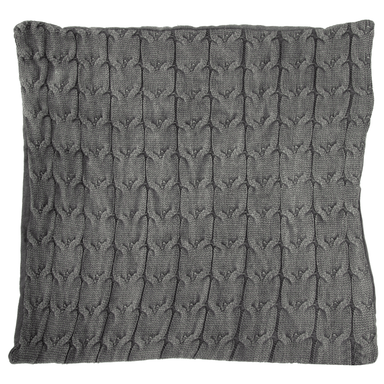 Grey Cushion Cover - 40cm x 40cm - only5pounds.com