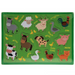 Kids Wooden Puzzle - Animals 5010792620183