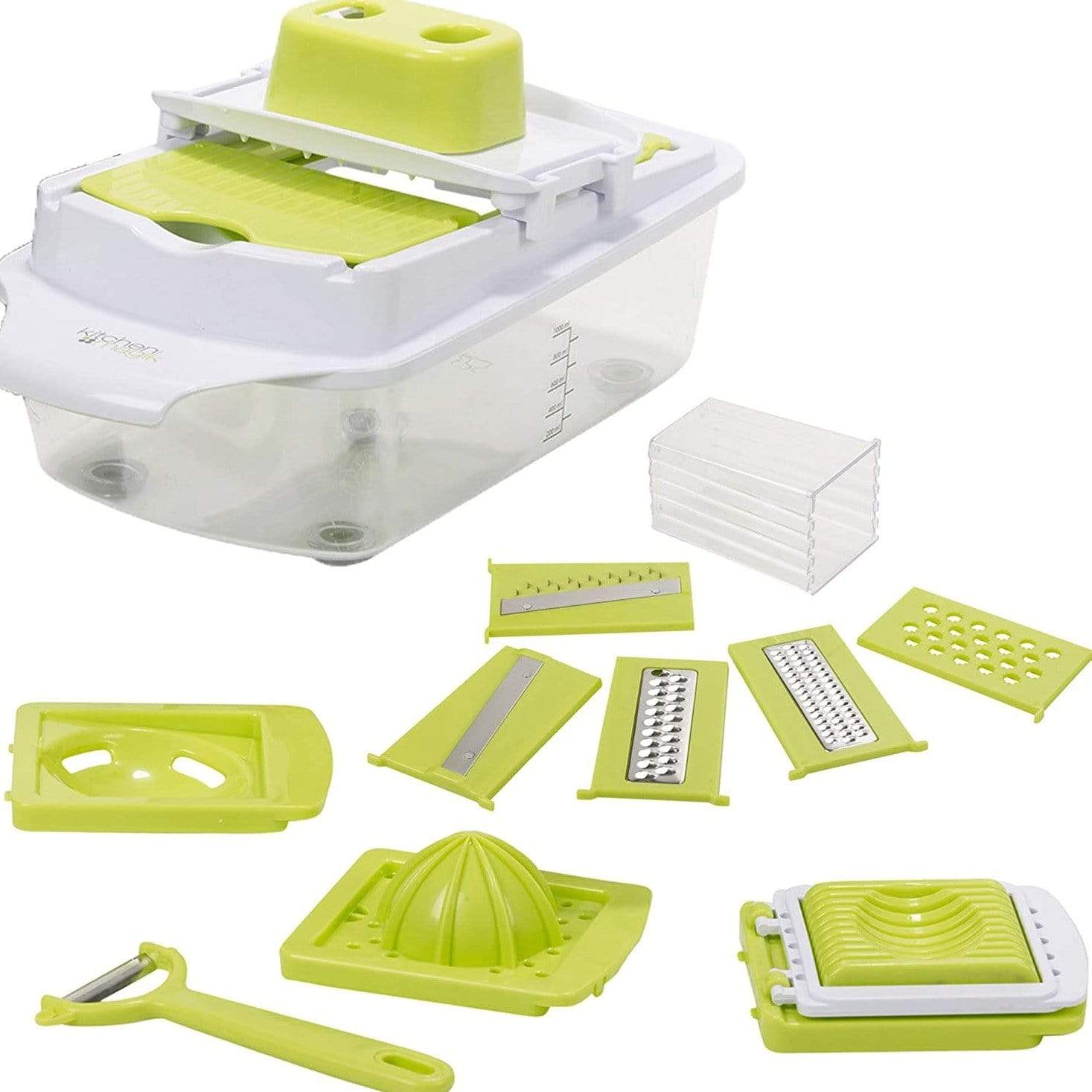 Kitchen Magik 10-in-1 Food Prep Set - only5pounds.com
