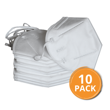 KN95/FFP2 5 PLY Respirator Protective Face Mask - 10 Pack - only5pounds.com