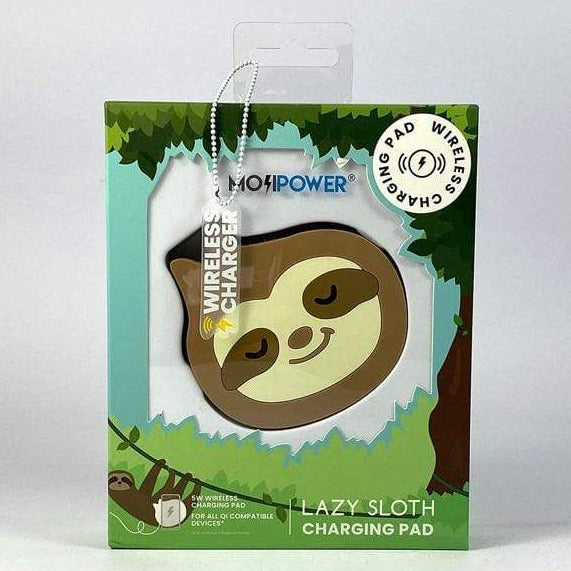 MojiPower Charging Pad - Lazy Sloth - only5pounds.com
