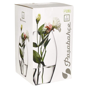 Pasabahce Rounded Floral Vase 8693357295117