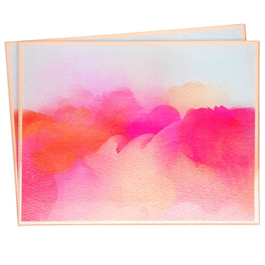 Pink Watercolour Place Mats - Set of 2 5010792434636