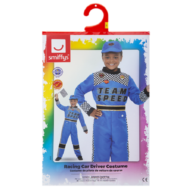 Racing Car Driver Costume - One Size 5020570512524