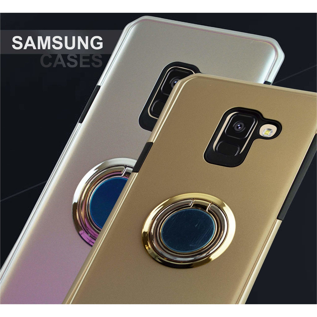 Samsung Case 360° Rotation Ring Stand Holder