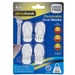 Small Removable Oval Hooks - Pack of 4 5050565395252