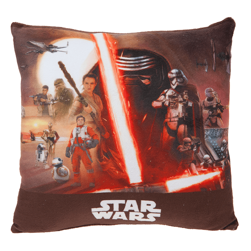 Star Wars Episode 7 Cushion - 30cm x 30cm - only5pounds.com