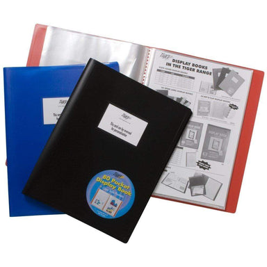 Tiger A4 Display Book - 80 pockets - only5pounds.com