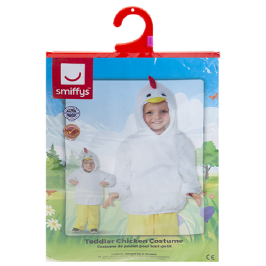 Toddler Chicken Costume - Ages 3-4 5020570512609
