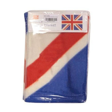 Union Jack Design Fleece Buggy Blankets - only5pounds.com