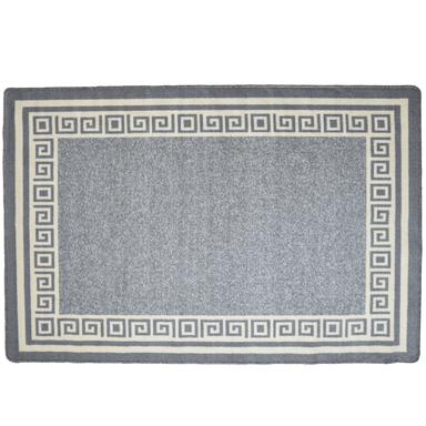 Kitchen Mat Luna Grey Door Mat - 50 x 80cm - only5pounds.com