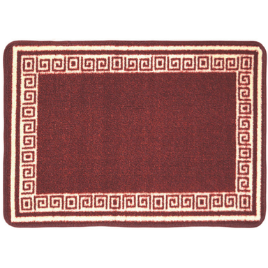 Luna Red Kitchen Mat - 50 x 80cm - only5pounds.com