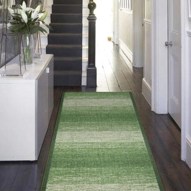 Stair Runner / Kitchen Mat - Shade Green - (Custom Sizes - Cut to order) - only5pounds.com