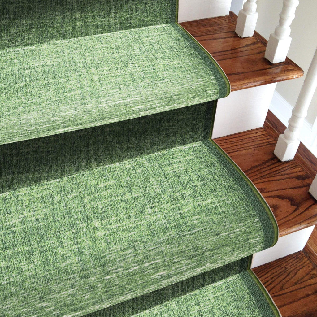 Stairs Runner / Kitchen Mat -  Shade Green - (Custom Sizes Available - Cut to order)
