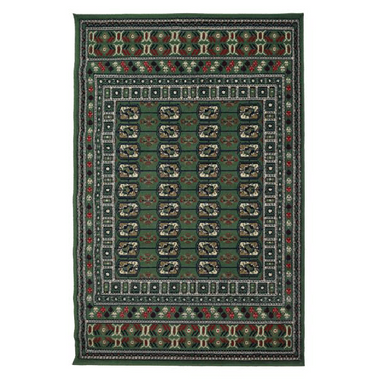 Bokhara Navy Pattern Rug - 80 x 150cm - only5pounds.com