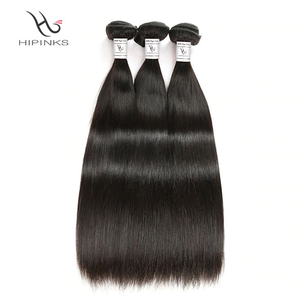 Hair Extensions & Wigs Mobok Brazilian Straight Human Hair 1 Piec Hair Weave Bundles 10-20 Inch Ot Blue Color Free Shipping Non Remy Hair Free Shipping