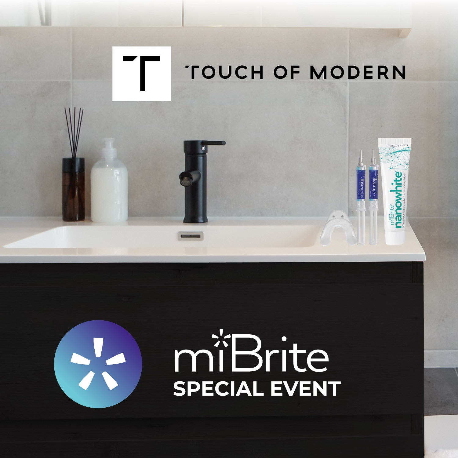 miBrite Event with Touch of Modern Begins Today