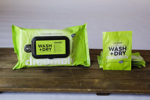 Dreambly Wash+Dry Sheets 4-Pack (40ct)