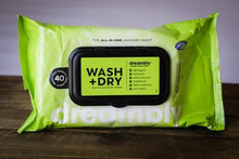 Load image into Gallery viewer, Dreambly Wash+Dry Sheets (40ct) SPECIAL