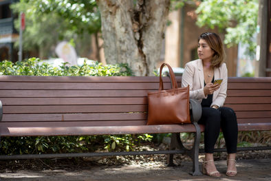 Melbourne Tote - More than just a handbag, not your average laptop bag