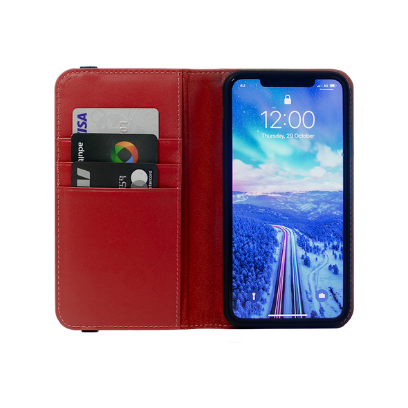 Leather Flip Wallet for iPhone 11 Pro Max