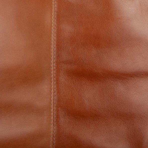 Toffee Leather Tote bag colour Tan