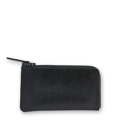 Banjo Leather Zip Pouch