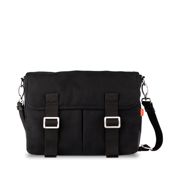 Toffee Mission Rucksack in black front