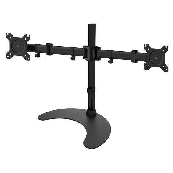 Double Monitor Desk Mount w/Base