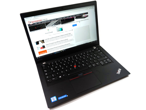 Off Lease Lenovo T470s - Intel i5/16GB/256GB SSD Touch