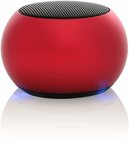 MY HEAVY METAL BLUETOOTH SPKR SOLO RED