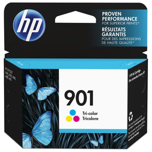HP 901 Tri-Colour Standard Yield Ink Cartridge (CC656AN)