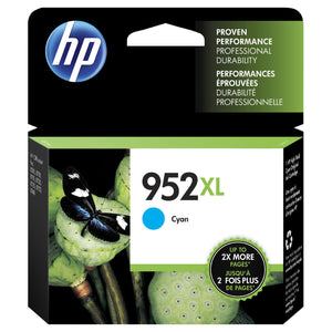 HP 952XL Cyan High Yield Ink Cartridge (L0S61AN)