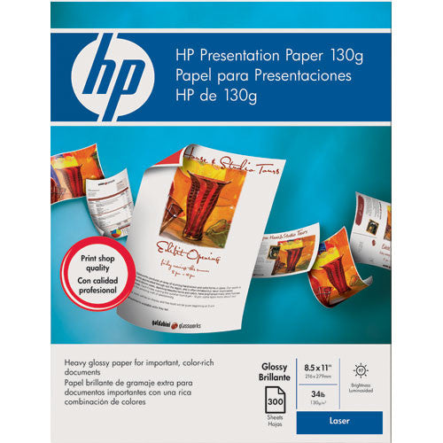 HP Color Laser Presentation Paper (Gloss) for Laser Printers - 8.5x11