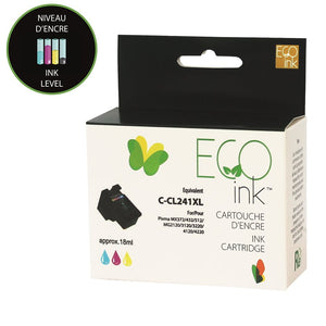 Canon CL-241 XL Reman Colour EcoInk with ink level