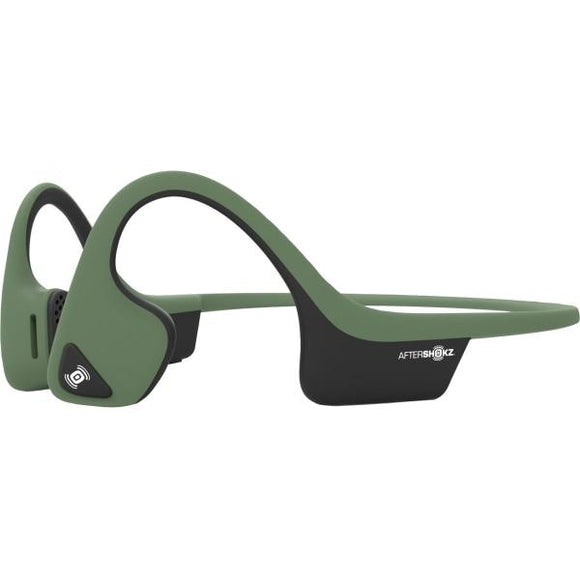 AfterShokz Trekz Air Bluetooth Wireless Over-Ear Headphones - Green - Perth PC