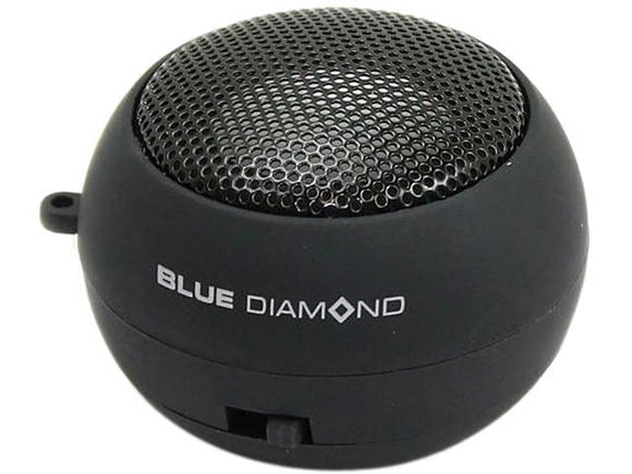 BlueDiamond 161107 Black Mobile Mini Travel Speaker - Perth PC