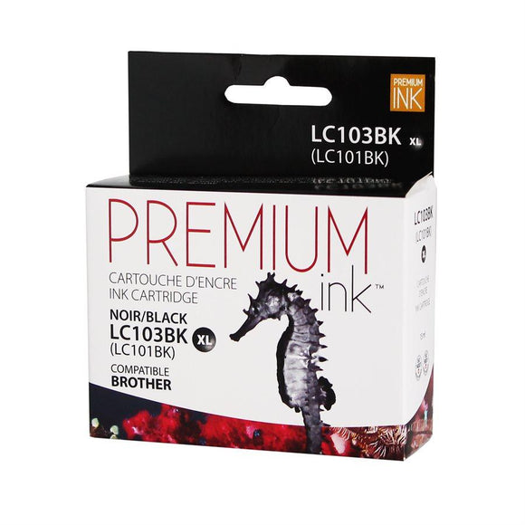 Brother LC103BK Black Compatible Premium Ink - Perth PC